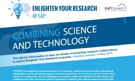 Call for projects: 2019 EaP Enlighten Your Research programme