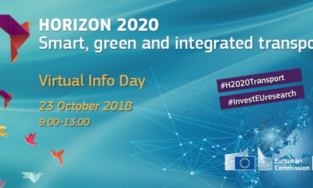 Horizon 2020 Smart, green and integrated transport - Virtual Info Day