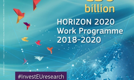New H2020 Work Programme 2018-2020 published: Commission to invest €30 billion in new solutions for societal challenges and breakthrough innovation