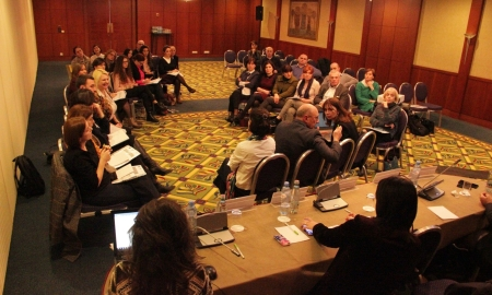 Georgian Diaspora Workshop in cooperation with EaP PLUS on February 17