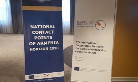 The training for National Contact Points (NCPs) was held in a very interactive mood in Yerevan, Armenia