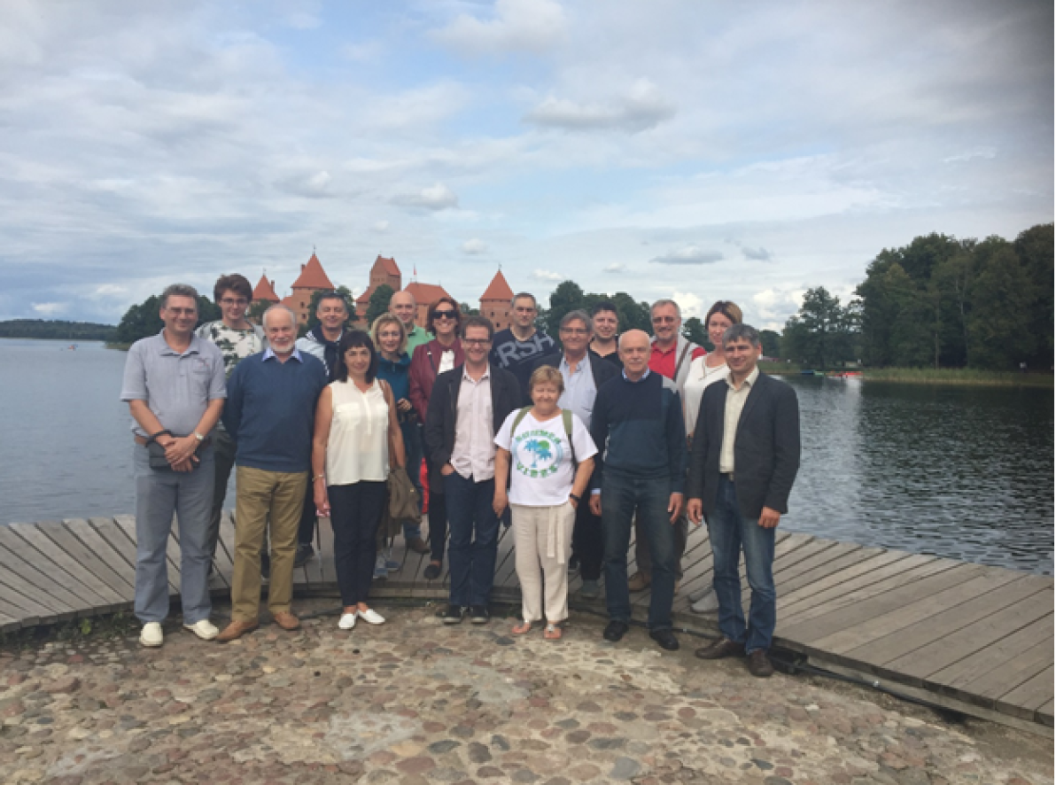 Participants of the final TUMOCS meeting, Vilnius, Lithuania