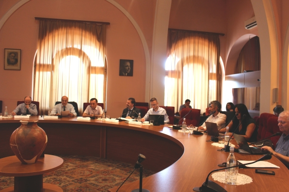 Attendants and Speakers during the Info Day & Workshop in Yerevan